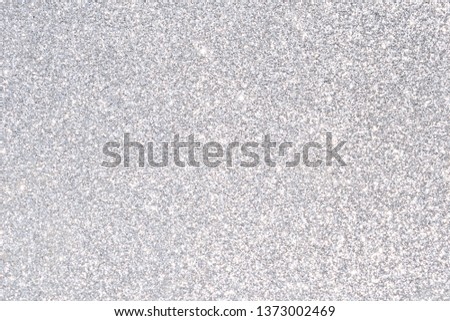 sparkles of silver glitter abstract background #1373002469