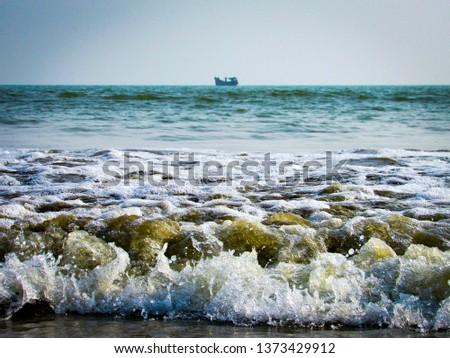 sea beach and sea life #1373429912