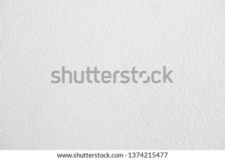 Abstract white cement or concrete wall texture for background. #1374215477