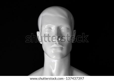 white plastic head #137437397
