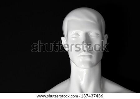 white plastic head #137437436