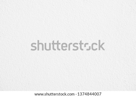 Abstract white cement or concrete wall texture for background. Paper texture,  Empty space. #1374844007