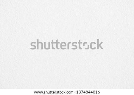 Abstract white cement or concrete wall texture for background. #1374844016