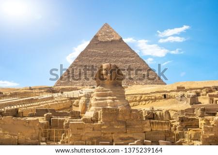 Shinx and pyramid #1375239164
