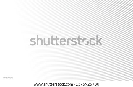 Abstract background, vector template for your ideas, monochromatic lines texture, waved lines texture Royalty-Free Stock Photo #1375925780