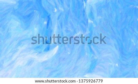 Abstract Blue Painting Texture Background #1375926779