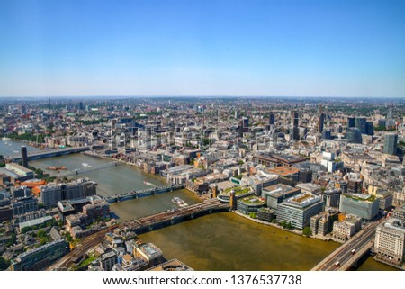 A view of London. #1376537738