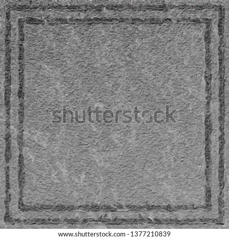 Black and white clean background with rough surface look . Wallpaper shape.  #1377210839