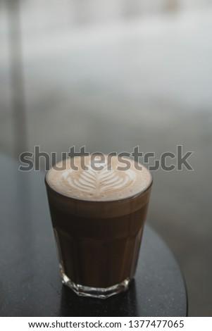 Coffee Brew Latte art #1377477065