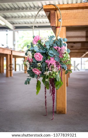 Wedding flowers and bouquets #1377839321