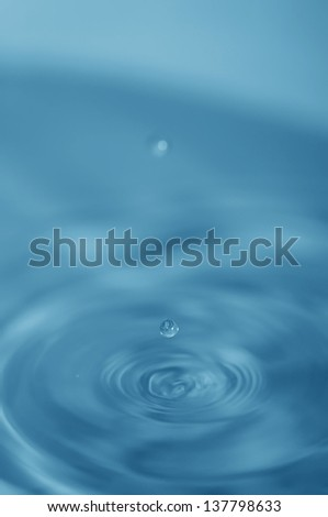 Drops of water   #137798633