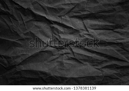 Dark Graphite Speckled Wrinkled Paper #1378381139