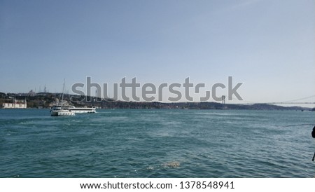 Marmara sea and forest in istanbul #1378548941
