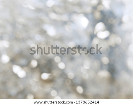 abstract blue background blurred bokeh spring blossom #1378652414