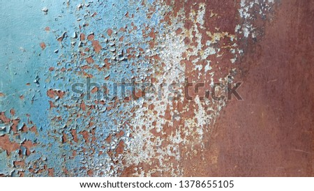 Rusty metal. Rust. Rusty Metal Background. Rusty metal surface #1378655105