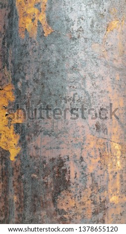Rusty metal. Rust. Rusty Metal Background. Rusty metal surface #1378655120