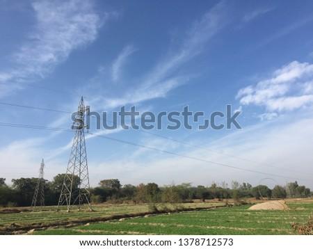 Beauty of fields rural areas  #1378712573