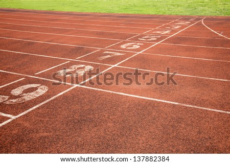 Sports runway #137882384