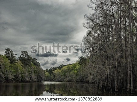 Storm brewing on the bayou #1378852889