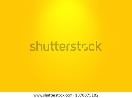 Abstract Luxury Gold yellow gradient studio wall, well use as background,layout,banner and product presentation. #1378875182