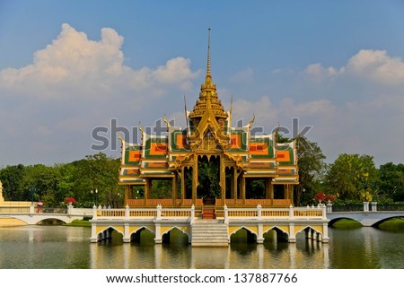 Bang Pa-In Palace in Thailand #137887766