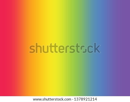 Colorful rainbow gradient blurred background. Gradient rainbow gay concept. LGBTQ transgender symbol and rainbow gradien tbackground  Royalty-Free Stock Photo #1378921214
