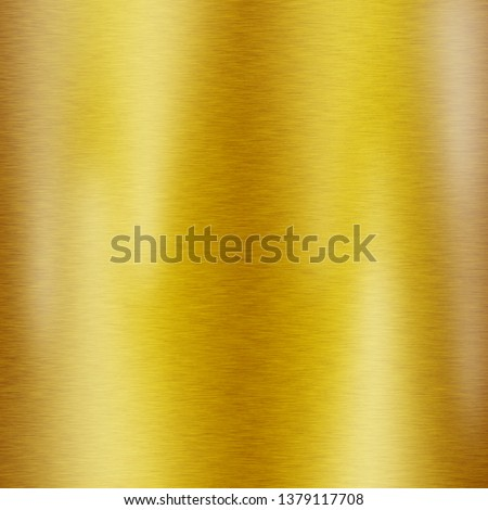 Gold metal texture background or yellow steel plate surface #1379117708