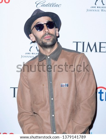 New York, NY - April 23, 2019: JR attends the TIME 100 Gala 2019 at Jazz at Lincoln Center #1379141789