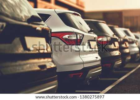 concept of sale car suv #1380275897