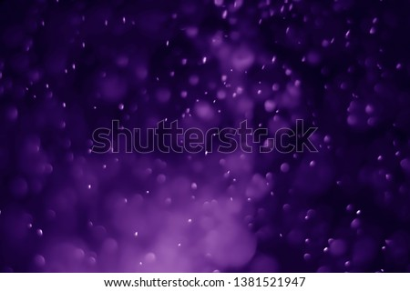 Bokeh purple proton background abstract