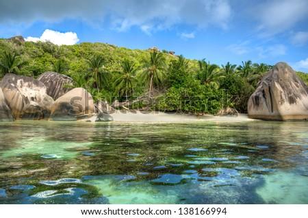 Anse Source d'Argent beach, La Digue island, Seychelles #138166994