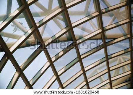 Close Up of Abstract Architecture Design        #1381820468