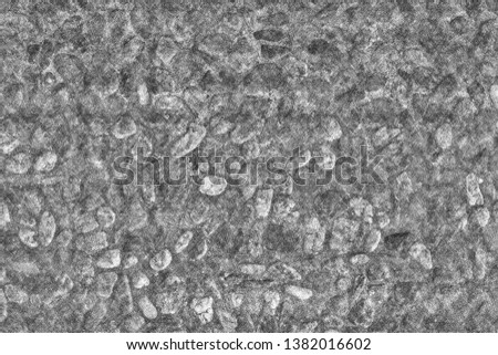 Artistic sketchy stony texture. Texture which looks like stones drawn by hand with pencil or pen. #1382016602