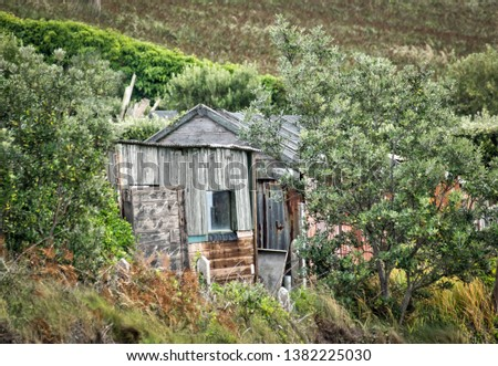 Old allotment shed St Mary's, Isles of Scilly, UK #1382225030