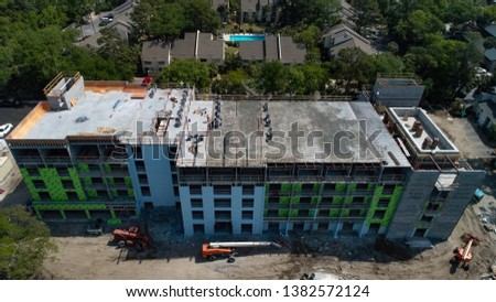 Construction of the new Heritage Plaza in Hilton Head #1382572124