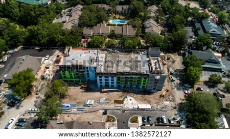 Construction of the new Heritage Plaza in Hilton Head #1382572127