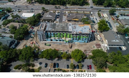 Construction of the new Heritage Plaza in Hilton Head #1382572130