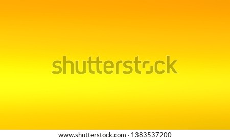 Abstract gradient background with Lemon, Tangerine color. Template for journal or book layout. #1383537200