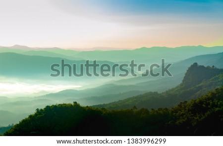 Mountain Wallpaper in Chiang Mai  #1383996299