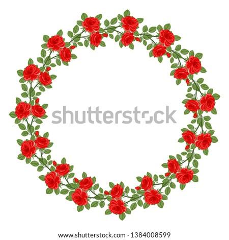 Floral background . Floral frame. #1384008599