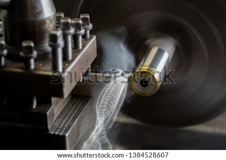 Where parts are made with a lathe #1384528607