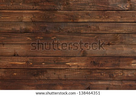 close up of wall made of wooden planks Royalty-Free Stock Photo #138464351