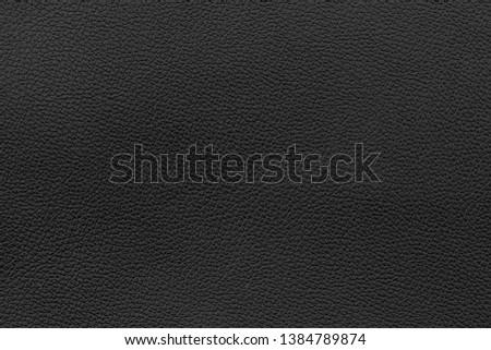 Luxury black leather texture background #1384789874