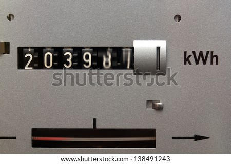 Electricity meter running fast