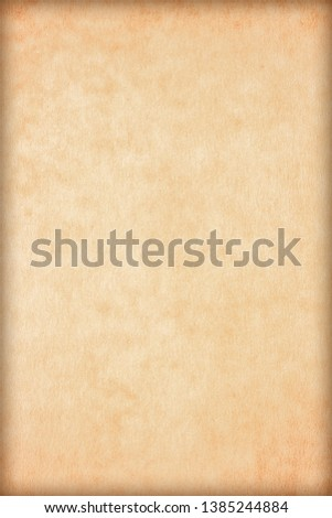 Old Paper texture. vintage paper background or texture; brown paper texture #1385244884