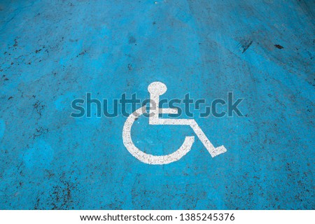 Space for people with disabilities #1385245376