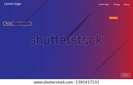 Geometric background. Dynamic shapes composition. Eps10 vector. #1385417531