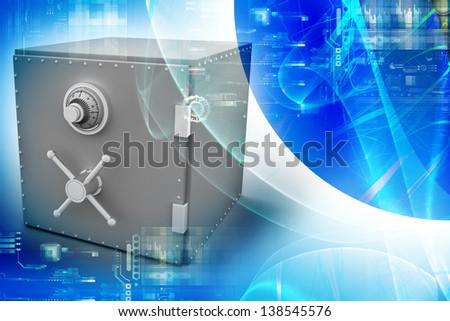 Bank safe #138545576