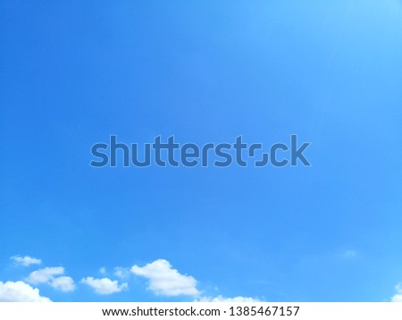 Beautiful blue sky landscape background and wallpaper #1385467157
