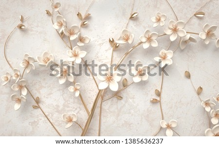 3d wallpaper of beautiful flower background